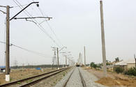 """Power supply system of Baku ring railway being reconstructed <span class=""""color_red"""">[PHOTO]</span>"""