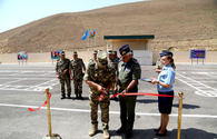 New military unit of Azerbaijan's Air Force opens in frontline zone