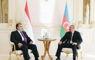 "President Aliyev: There are good preconditions for increasing cooperation between Azerbaijan, Tajikistan <span class=""color_red"">[UPDATE]</span>"