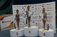 "Winners of first day of Azerbaijan and Baku Championships in Rhythmic Gymnastics awarded <span class=""color_red"">[PHOTO]</span>"