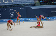 "Azerbaijan and Baku Championships in Rhythmic Gymnastics: best moments <span class=""color_red"">[PHOTO]</span>"