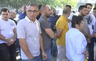 Armenian traders protest against tax inspectors