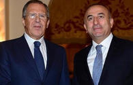 Turkish, Russian FMs discuss resolution of Karabakh conflict
