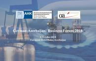 Baku to host German-Azerbaijani Business Forum