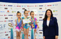 "Winners of first day of International Tournament ""GymBala"" in Rhythmic Gymnastics awarded"
