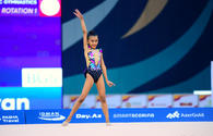 Second day of Int'l rhythmic gymnastics tournament GymBala kicks off in Baku