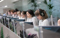 Azerbaijan's single call center processing requests for tourism services