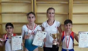 National gymnasts won medals in Batumi