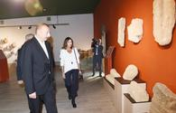"Azerbaijani president, First Lady attend opening of Damirchi Archaeology Museum in Shamakhi <span class=""color_red"">[PHOTO]</span>"