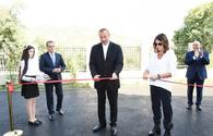 "Azerbaijani president, First Lady open newly-built school in Lahij <span class=""color_red"">[PHOTO]</span>"