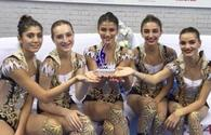 National gymnasts won World Cup overall standing