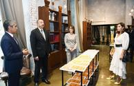 "President Ilham Aliyev, First Lady Mehriban Aliyeva attend opening of Baku Book Center <span class=""color_red"">[UPDATE]</span>"