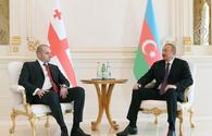 "President Aliyev meets Georgian PM Bakhtadze <span class=""color_red"">[UPDATE]</span>"