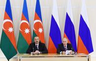 Putin: Russia-Azerbaijan talks to give additional impetus to further developing bilateral relations