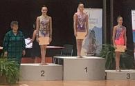 National rhythmic gymnast wins bronze medal in Bulgaria