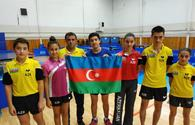 National table tennis players successfully perform in Istanbul