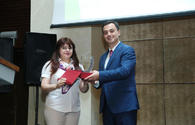 """Trend news agency presented with award of OIC Youth Forum <span class=""""color_red"""">[PHOTO]</span>"""