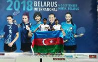 Badminton players successfully perform in Belarus