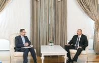 "Ilham Aliyev: Azerbaijan came to conclusion that Pashinyan trying to break off negotiations by any means <span class=""color_red"">[UPDATE]</span>"