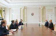 "President Aliyev receives delegation led by Czech minister of industry and trade <span class=""color_red"">[UPDATE]</span>"