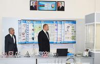 """Ilham Aliyev views conditions created at school in Zabrat after overhaul <span class=""""color_red"""">[PHOTO]</span>"""