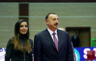 President Ilham Aliyev, first lady Mehriban Aliyeva attend oath-taking ceremony for young soldiers at State Security Service