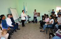 "Business development training for Azerbaijani women and youth by Indian trainers at Lahij <span class=""color_red"">[PHOTO]</span>"