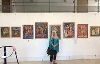 "World-famous Azerbaijani artist presents her works in France <span class=""color_red"">[PHOTO]</span>"