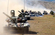 "Azerbaijan's troops in drills moving forward to operational areas <span class=""color_red"">[PHOTO/VIDEO]</span>"