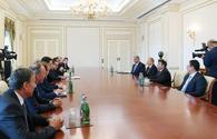 President Aliyev receives delegation led by Austrian vice-chancellor