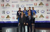 National wrestlers win four medals in Minsk