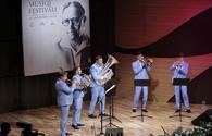 "New Life Brass performs at Uzeyir Hajibeyli Int'l Music Festival <span class=""color_red"">[PHOTO]</span>"