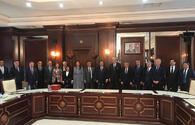 Turkish parliament delegation holds meetings in Azerbaijan's parliament