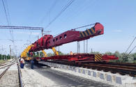 "New switches being laid at Azerbaijan's Sangachal, Goran railway stations <span class=""color_red"">[PHOTO]</span>"