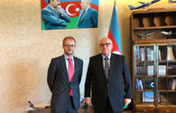 AZAL president meets with Switzerland's ambassador to Azerbaijan