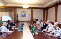 "Azerbaijani defense minister meets NATO's deputy secretary general <span class=""color_red"">[PHOTO]</span>"