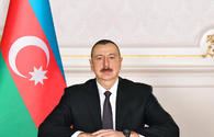President Aliyev expresses condolence to his Iranian counterpart