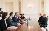 "President Ilham Aliyev receives delegation led by European Investment Bank vice-president <span class=""color_red"">[PHOTO]</span>"