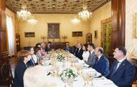 "President of Italian Senate hosts official dinner in honor of Azerbaijani First VP <span class=""color_red"">[PHOTO]</span>"