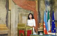 "First VP Mehriban Aliyeva attends conference on centennial of ADR and relations of strategic partnership between Azerbaijan, Italy <span class=""color_red"">[PHOTO]</span>"