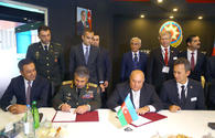 Azerbaijan's Defense Ministry, Ministry of Defense Industry ink MoU
