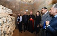 "Azerbaijani First VP Mehriban Aliyeva attends inauguration of restored St. Sebastian catacombs in Vatican <span class=""color_red"">[PHOTO]</span>"