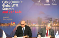 "AZAL inks agreement to hold CANSO-2020 Global Summit in Baku <span class=""color_red"">[PHOTO]</span>"