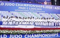 "2018 World Judo Championship wraps up in Baku <span class=""color_red"">[PHOTO]</span>"
