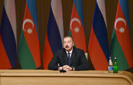 Ilham Aliyev: Effective dynamics in all areas shows both spirit and nature of Azerbaijan-Russia relations