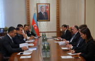 Azerbaijan FM receives newly-appointed Turkic Council Sec. Gen.