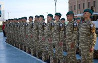 """Azerbaijani peacekeepers leave for Afghanistan <span class=""""color_red"""">[PHOTO]</span>"""