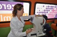 "Azercell provides free eye examination on World Sight Day <span class=""color_red"">[PHOTO]</span>"