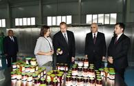 "Azerbaijani president, First Lady attend inauguration of Gubaekoagrar agricultural plant <span class=""color_red"">[PHOTO]</span>"