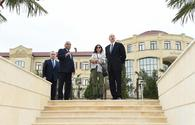 "Azerbaijani president, First Lady view Youth Park in Guba <span class=""color_red"">[PHOTO]</span>"
